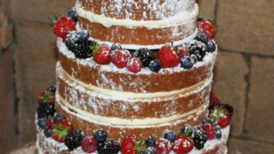 "4 Tier Wedding Cake (4"",7"",10""13"" or 6"",8"",10"", 12"")"