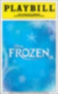 Frozen Jr Playbill