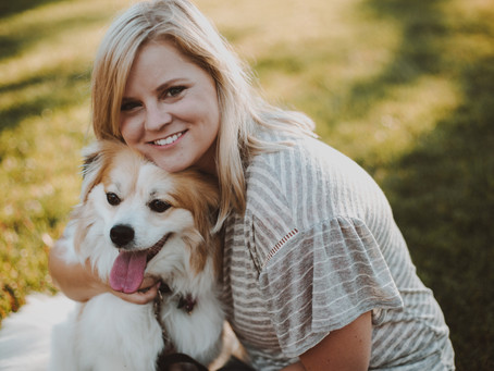 Pets + Their Humans | Summer Family Photo Session | Winona, Minnesota