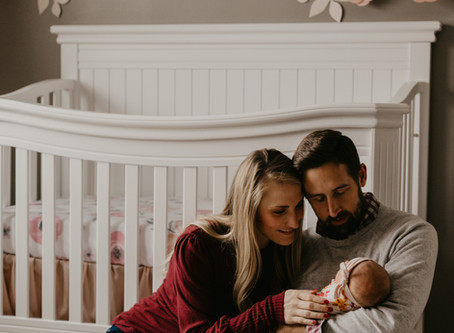 The Meyers | Newborn Photography | La Cresent, Minnesota