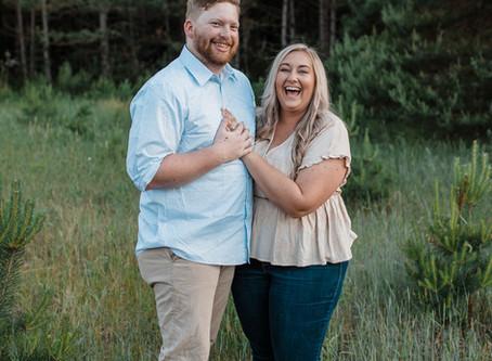 Katie + Keifer | Engagement Session | Merrick State Park