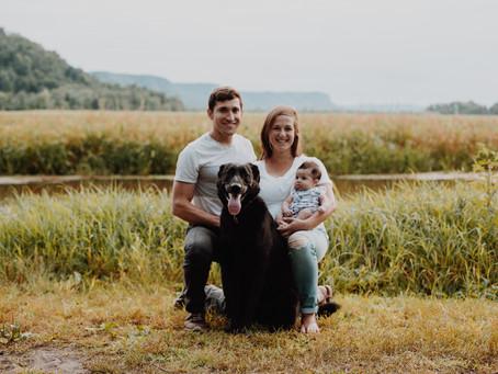 The Huerta's | Summer Family Photography | Winona, Minnesota