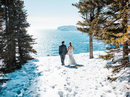 Jess & Gunnar | Tettegouche State Park Elopment