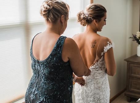 Alexis + Tai | Covid Wedding | Mound, Minnesota