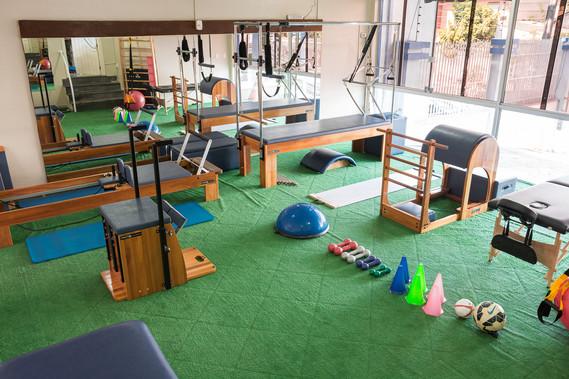 Nosso espaço de pilates!