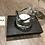 Thumbnail: Single tealight holder with glass tealight holder