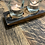 Thumbnail: Twin round glass whisky stave tealight holder