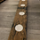 Thumbnail: Full length whisky stave tealight holder with 7 tealights