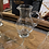 Thumbnail: Half barrel top tasting tray with 6 glencairn whisky glasses and 1 water jug