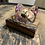 Thumbnail: Single Whisky stave tealight holder with resin candle holdee