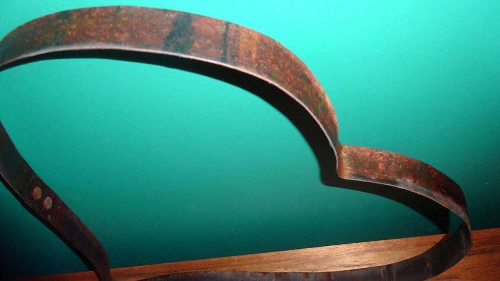 Rustic whisky hoop heart