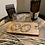 Thumbnail: Twin whisky glass flight tray with clear glass
