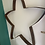 Thumbnail: Rustic finish star made from whisky barrel hoop