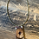 Thumbnail: Whisky barrell and flower pendant necklace