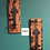 Thumbnail: Wall hanging pillar candle holder with traditional wrought iron