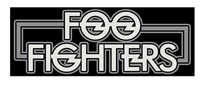 """FOO FIGHTERS STICKER 6"""""""