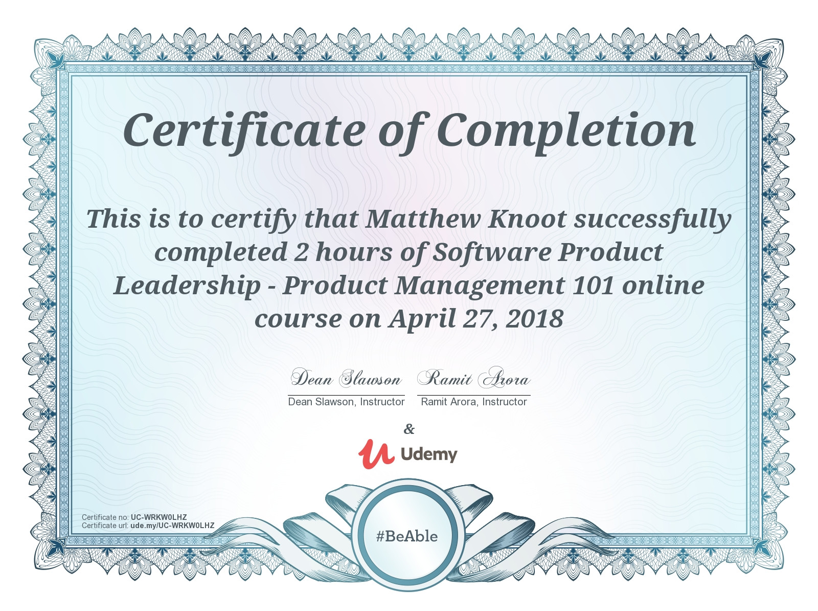 Software Product Leadership
