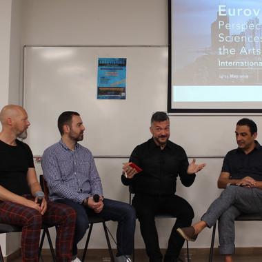 2nd Day | Round Table | Georgios Kalpakidis (aka Gorgi) | Gonçalo Madaíl | Marco Schreuder  | Chair: Irving Wolther