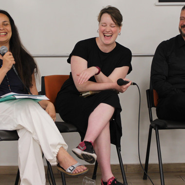 2nd Day | Round Table | Carla Figueira | Irving Wolther | Sofia Vieira Lopes