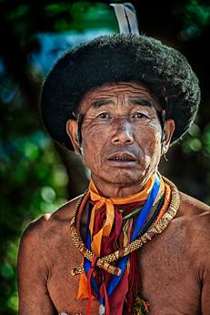 Portrait of a tribesman 4