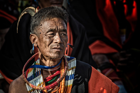 Portrait of a tribesman 8