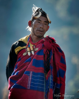 Portrait of a tribesman 2