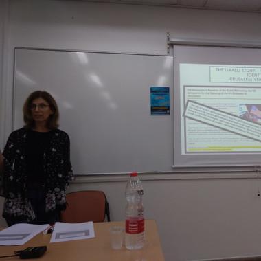 1st Day | Keynote speaker | Galia Press-Barnathan