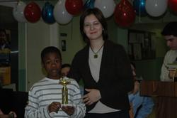 Middle school science fair 2008