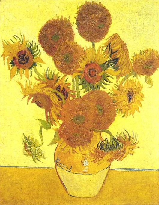 Vicnent van Gogh: Sunflowers - Praise
