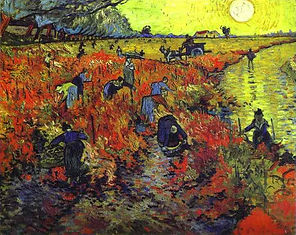 Vincent van Gogh: Red Vineyard