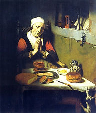 Nicolaes Maes Old Woman Praying