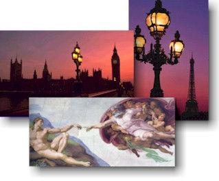 Inspiring Christiant travel tours art museums London Paris Rome Europe