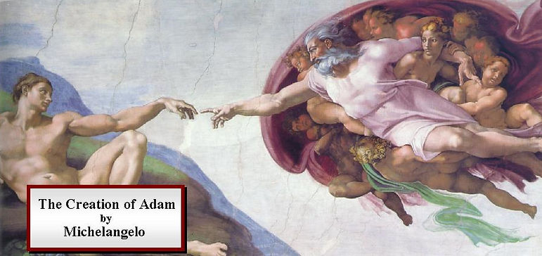 Michelangelo: Creation of Adam from Sistine Chapel ceiling
