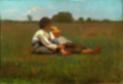 Winslow Homer: Boys in a Pasture bereavement devotional