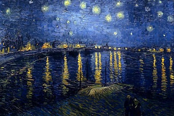 Vincent van Gogh Starry Night on the Rhone