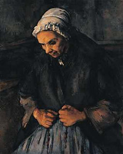 Paul Cezanne: Old Woman with a Rosary