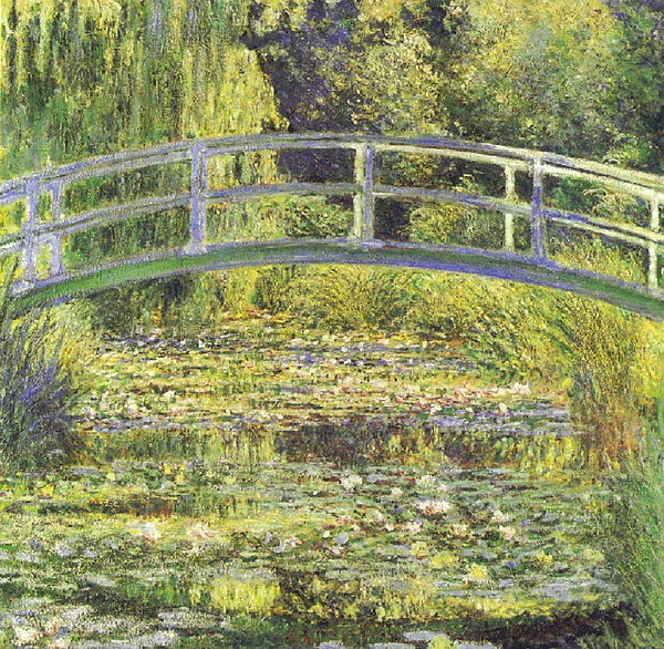 Claude Monet: Japanese Bridge or Lily Pond - Benediction