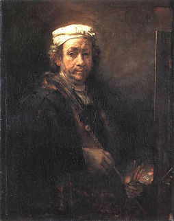 Rembrandt: Self Portrait bereavement devotional