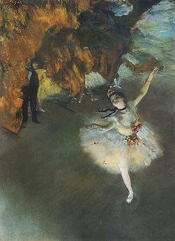 Edgar Degas: The Star or L'Etoile Christmas devotional