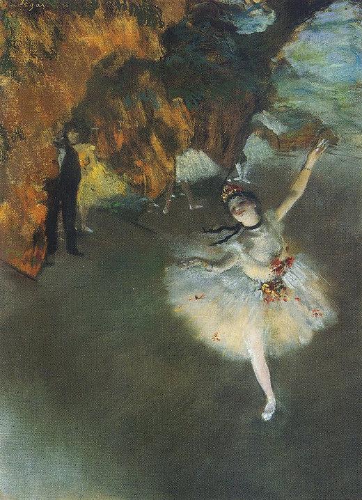 Edgar Degas The Star L'Etoile Christmas devotional