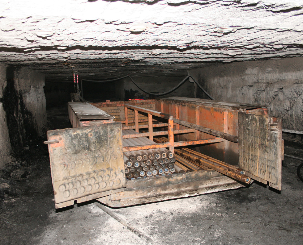 Degasification Drill