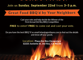 1st Annual Del Rey BBQ Competition planned