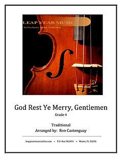 God Rest Ye Merry Gentlemen Leap Year Publishing