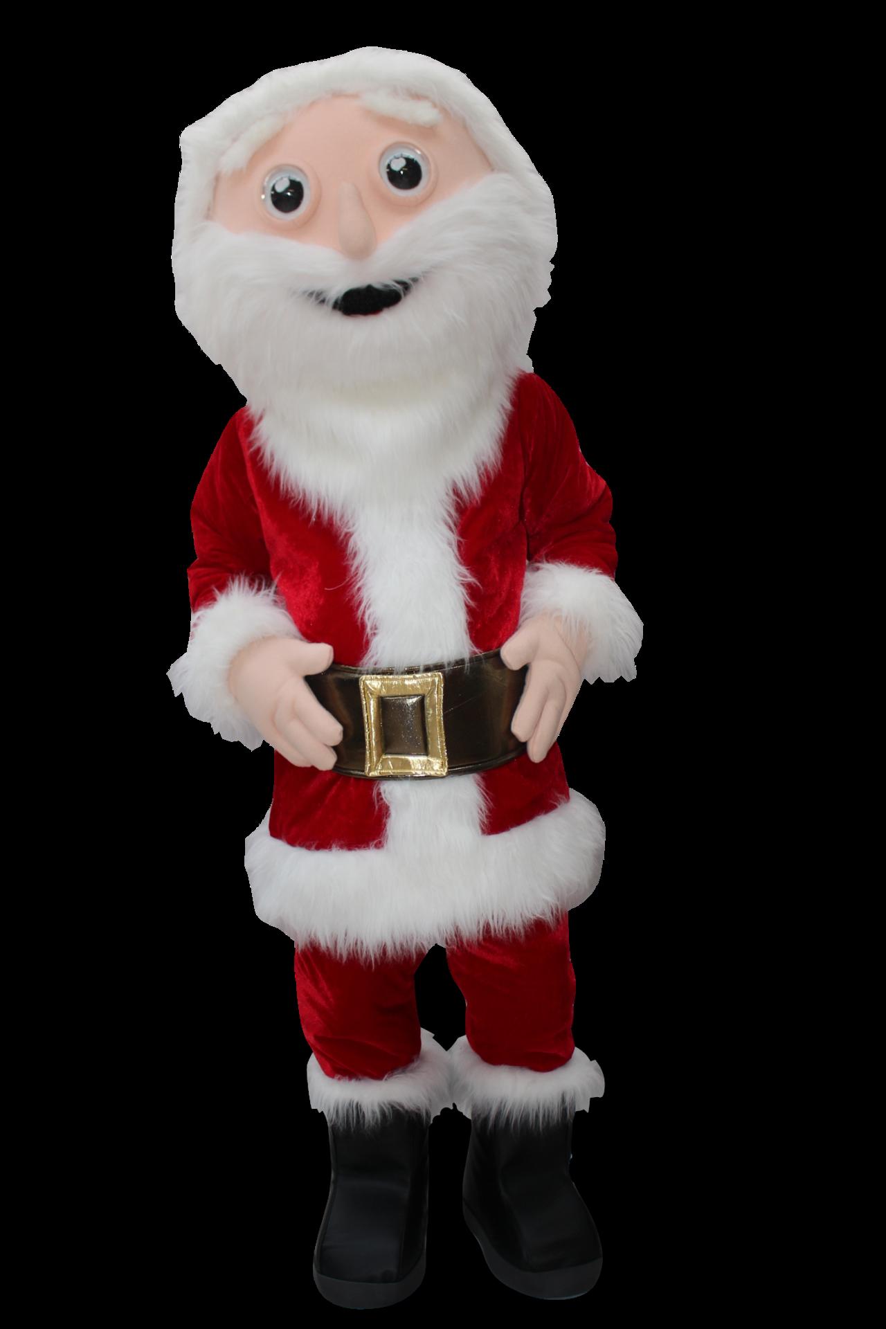 Mascote Partyval Pai Natal