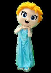 Mascote Partyval  Elsa Frozen 3.png