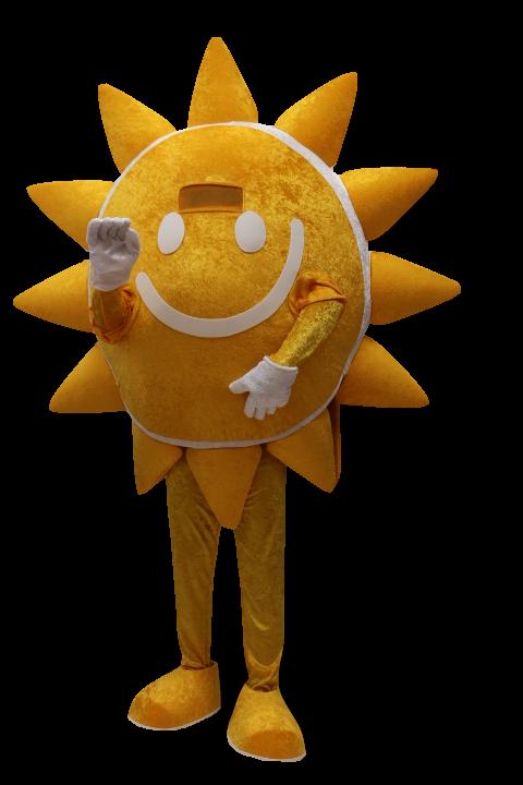 Mascote Partyval Sol
