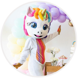 mascote unicornio