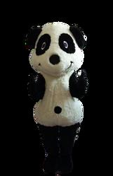 Mascote Partyval Panda