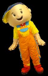 Mascote Partyval Ruca 1
