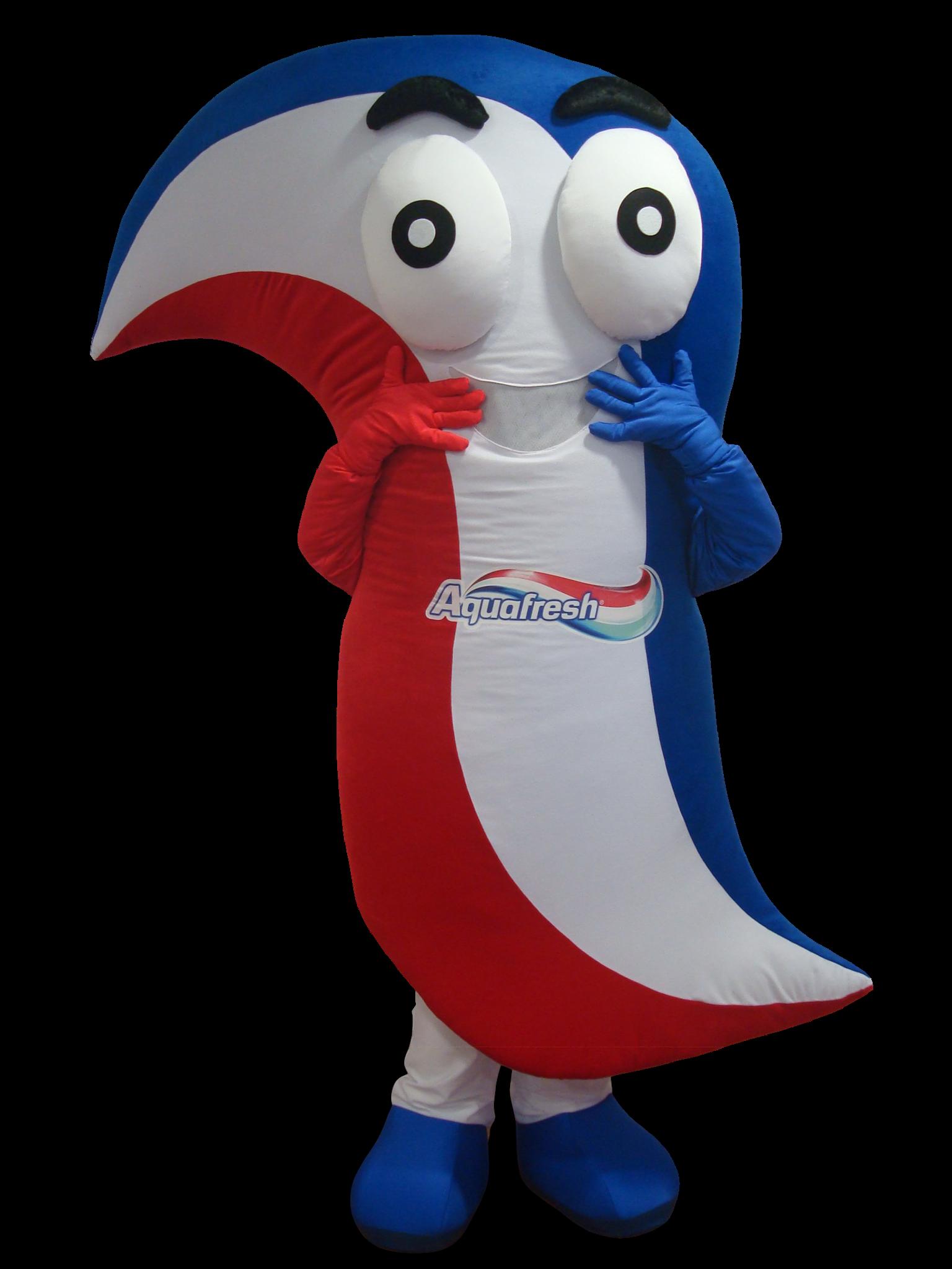 Mascote Partyval Pasta de dentes